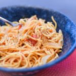 One-pot five-ingredient spaghetti in under ten minutes