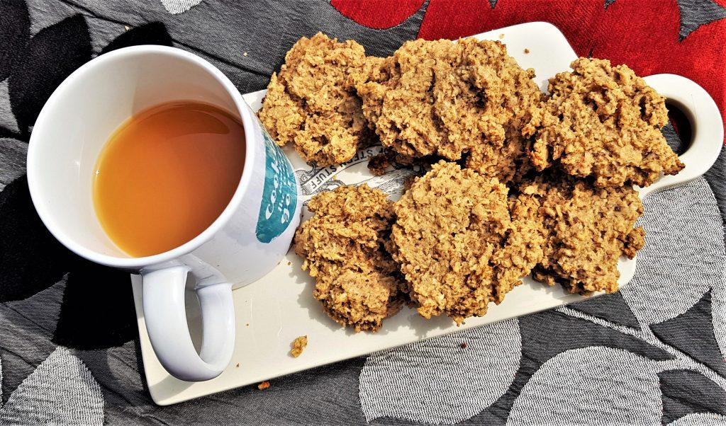 Oat pulp peanut butter cookies
