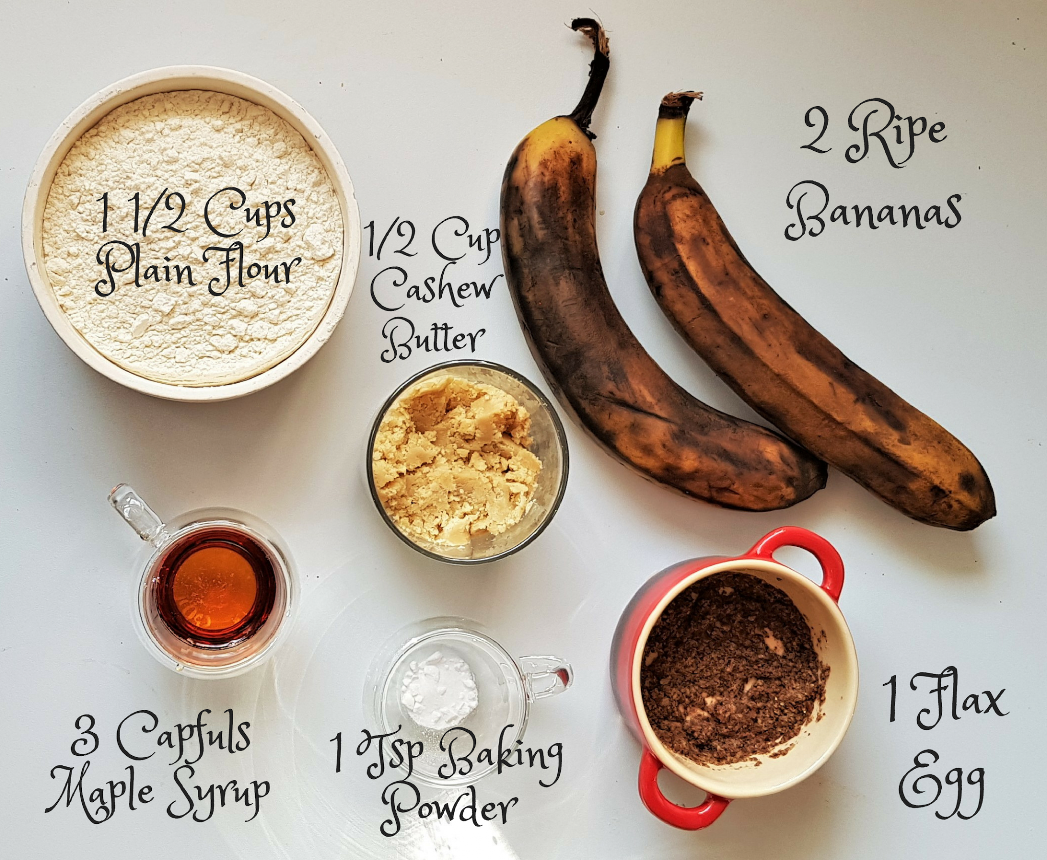 5-ingredient vegan banana cookies